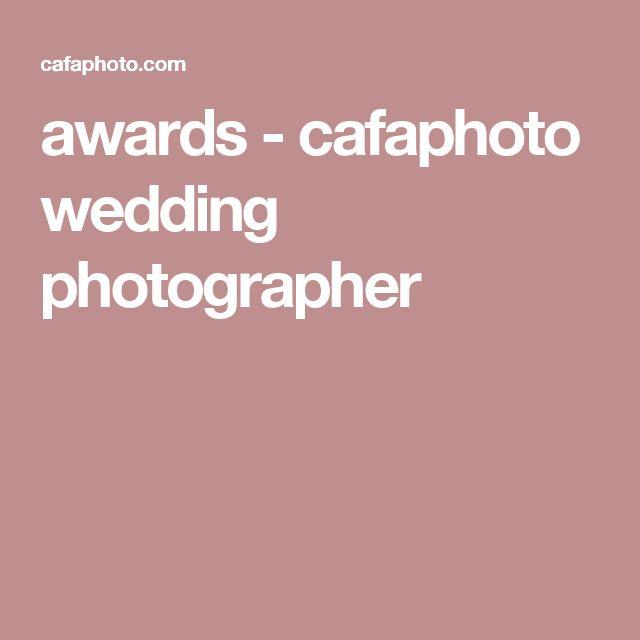 awards - cafaphoto wedding photographer