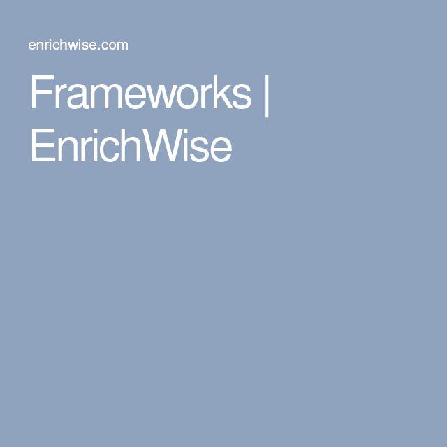 Frameworks | EnrichWise