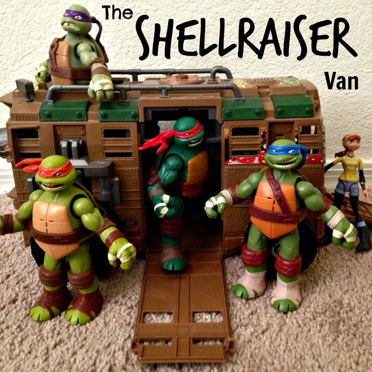 Turtle Toys For Boys : Ninja turtles shellraiser van adventures