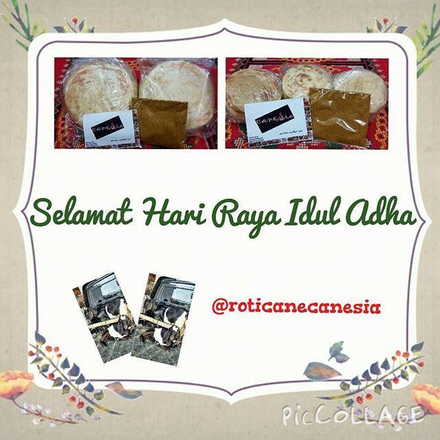 Selamat Hari Raya Idul Adha! Semoga ibadah dan qurban nya berkah. Bismillah   Promo! Order caneSia frozen min. 2 pack regular/3 pack mini by GO-FOOD/JNE, FREE bumbu kare!  www.roticanecanesia.blogspot.com | IG & twitter: @roticanecanesia |Delivery by GO-FOOD (GO-JEK)  #canesia #roticane #rotimaryam #iduladha #qurban #trustedonlineshop #trustedseller #foodie #foodstagram #foodporn #anakjajan #jajanan #gojekindonesia #gofoodbygojek #jne #kuliner #culinary #foodies