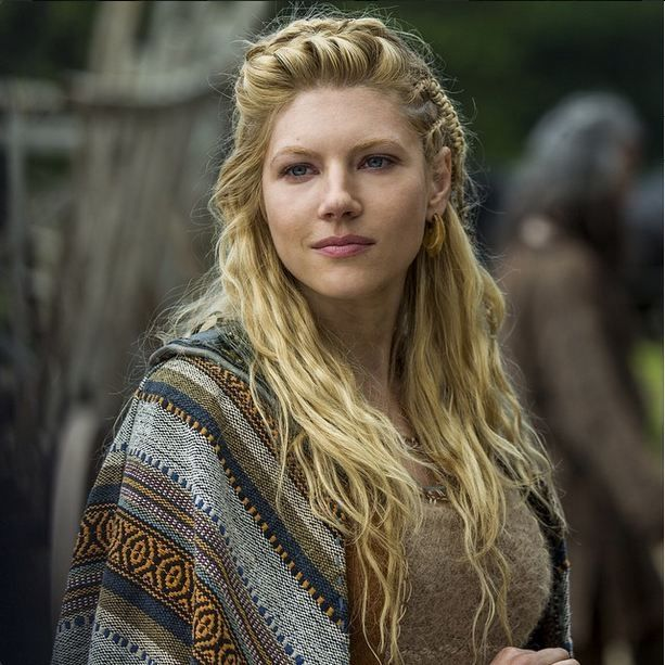 Katheryn Winnick currently plays Lagertha, shieldmaiden and companion of Ragnar Lothbrok in the History Channel series ' Vikings'. Description from imgur.com. I searched for this on bing.com/images