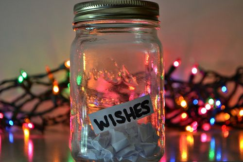 "justjesstaylor: ""Because everyone needs a wish jar in their life! Dream big! """