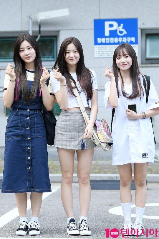PRODUCE 48 STONE MUSIC Jang Gyuri , Lee Sian and Jo Yuri