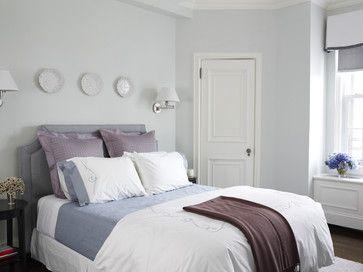 cozy guest room - traditional - bedroom - new york - Kathleen Walsh Interiors, LLC