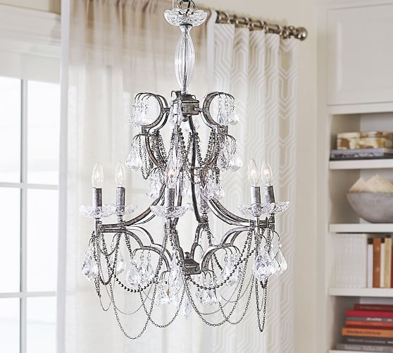 Serena Necklace Chandelier Pottery Barn For The Home Pinterest Antiqu