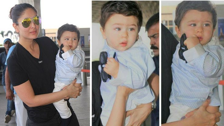These pictures of Taimur Ali Khan at the airport will certainly make you go awww, yet again. In yet another set of adorable pictures, Taimur Ali Khan was spotted with his mother Kareena Kapoor Khan. The two were on their way to the capital where Kareena is shooting for her next, Veere Di Wedding along with co-stars Sonam Kapoor and Swara Bhaskar.  Taimur Ali Khan has become a celebrity, all thanks to his adorably charming looks and his parents. He is the most photographed toddler and his…