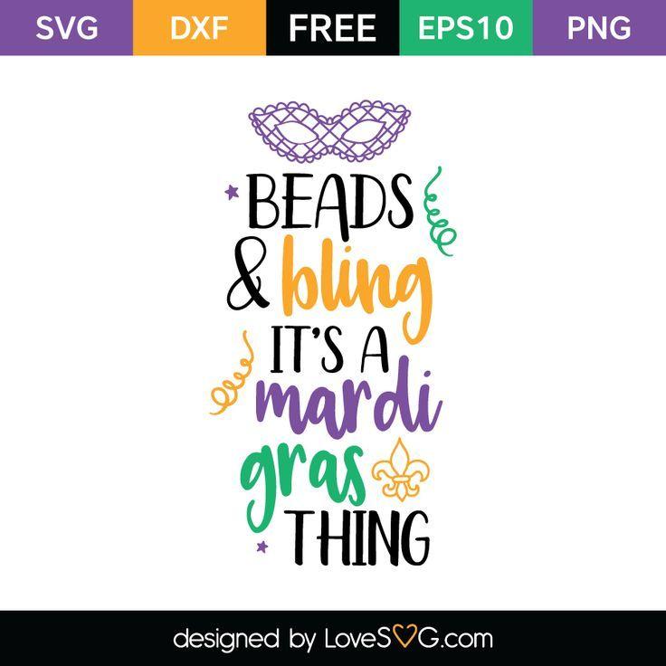 Beads Bling It S A Mardi Gras Thing Mardi Gras Mardi Gras