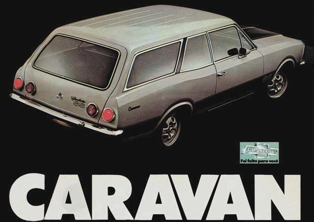 Chevrolet Caravan SS - Propaganda Brasil (1979)