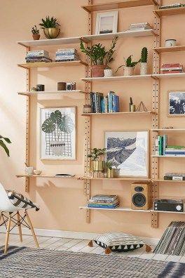 40 simple shelving ideas for smart storage your home decor granny rh pinterest com