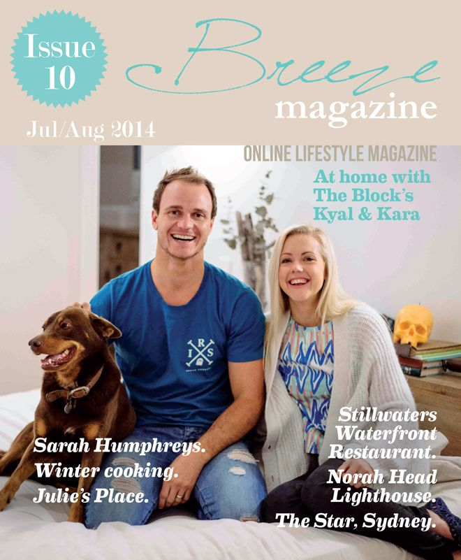 In Issue 10 TVSN's Carla King-Turner brings us a seasonal fashion update, local GP Dr. Diana Treece talks travel health, Natalie Mitchell discusses natural beauty, Jayne Molony tells us about Julie Goodwin's latest enterprise and Aaron Pirini takes us surfing in warmer waters. We welcome our new food editor,Dannielle Mills who has some fabulous winter recipes for you. Channel 10's Scott McRae takes us to TheStar for the weekend and Chloe Webb interviews local songstress, Sarah Humphreys.