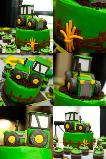 Tractor cake!! First birthday idea :)
