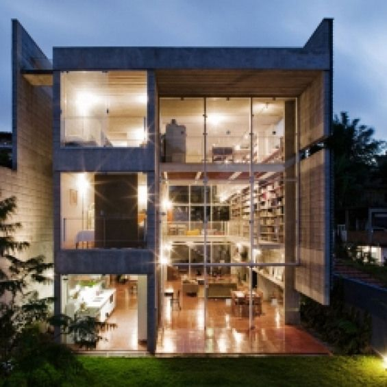 Modern Brazil House With Rooms That Could Be Opened Or Closed Completely