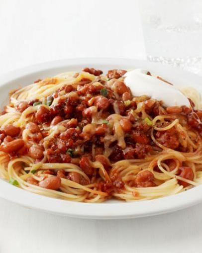 The 25 best chili recipe food network ideas on pinterest chilli spaghetti with quick turkey chili chili recipe food networkfood forumfinder Images