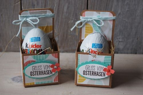 Ostereierverpackung, Bild1, gebastelt mit Produkten von Stampin\' Up!