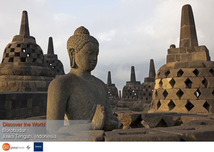 Borobudur is a Buddhist stupa in the Mahayana tradition and it is the largest Buddhist monument in the world.  #onlinebookingsystem #FIT #Borobudur #indonesia #Buddhist #monument #discovertheworld #instadaily #todayspost#view #viewoftheday #views #picoftheday#DorakHolding #GB #GlobalBeds