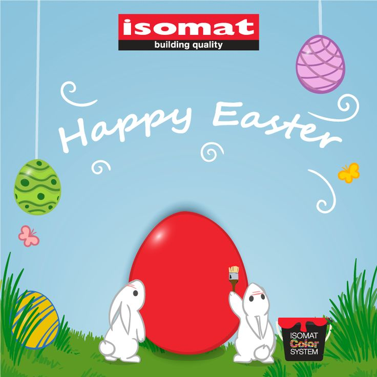 Happy Easter from everyone here at ISOMAT!