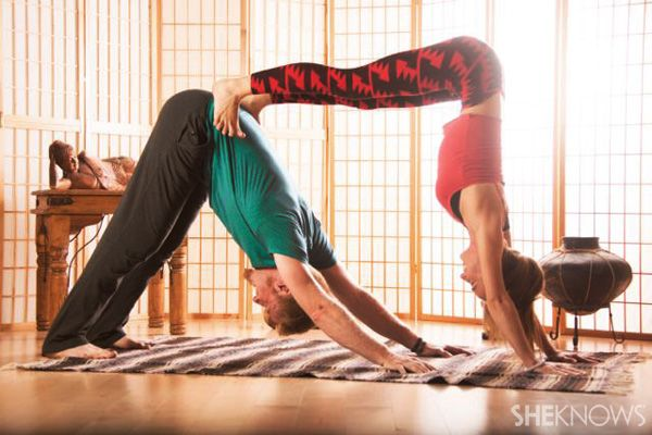 FEBRUARY: Partner yoga poses for beginners