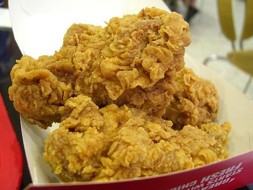Como fazer a receita de frango frito secreto do KFC: Expiration Chicken, Chicken Recipe, Kfc Copycat, Green Chicken, Fries Chicken, Copy Cat Recipe, Lawsuits File, Kfc Chicken, Copycat Recipe