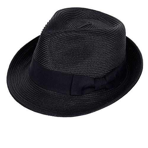 New Straw Fedora Hat Sun Trilby Unisex Summer Beach Hats Fashion Panama  with Short Brim for Men and Women.   12.98 - 16.98  offerdressforyou Fashion  is a ... a94964c41ed3