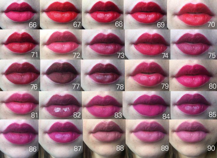 66. KVD ELL: Bachelorette 67. Bite Luminous Creme Lipstick (LE duo): Holly 68. Bite Luminous Creme Lipstick...