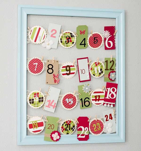 I love this type of advent calender, definitely doing this when we have our family.