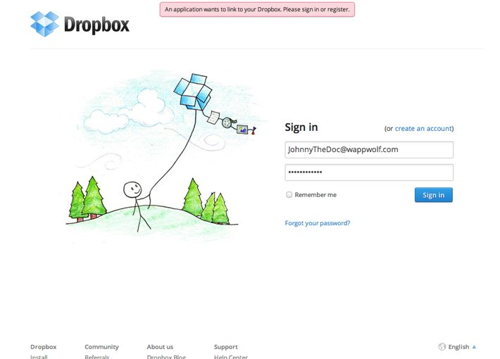 error page dropbox - Пошук Google