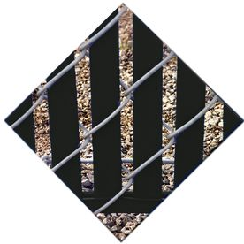 78-Pack Black Chain-Link Fence Privacy Slats (Fits Common Fence Height