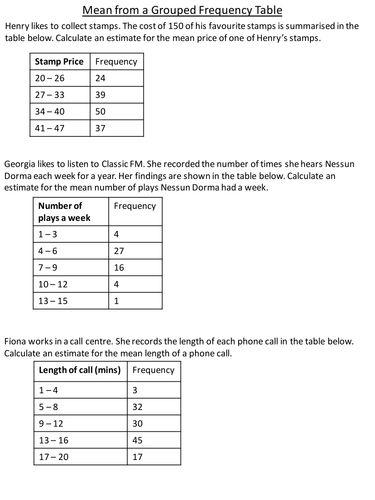 272 best Maths (Statistics and Data Handling) Secondary School - statistics worksheet