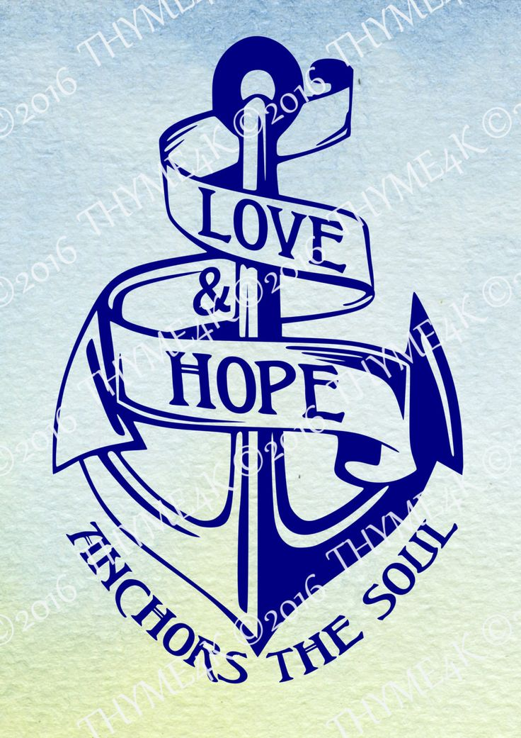 "Download Digital Design ""Love & Hope Anchors the Soul"" #2 Instant ..."