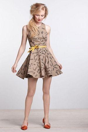 Anthropologie dress :)