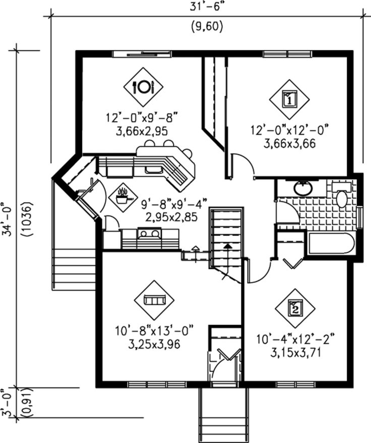 36 best floor plan images on Pinterest Floor plans, Tiny house and
