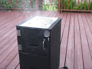 DIY : File Cabinet Cold Smoker.    Metal File Cabinets are free everywhere!  Cheaper then making a terra cotta pot smoker, and longer lasting then a cardboard box cold smoker.