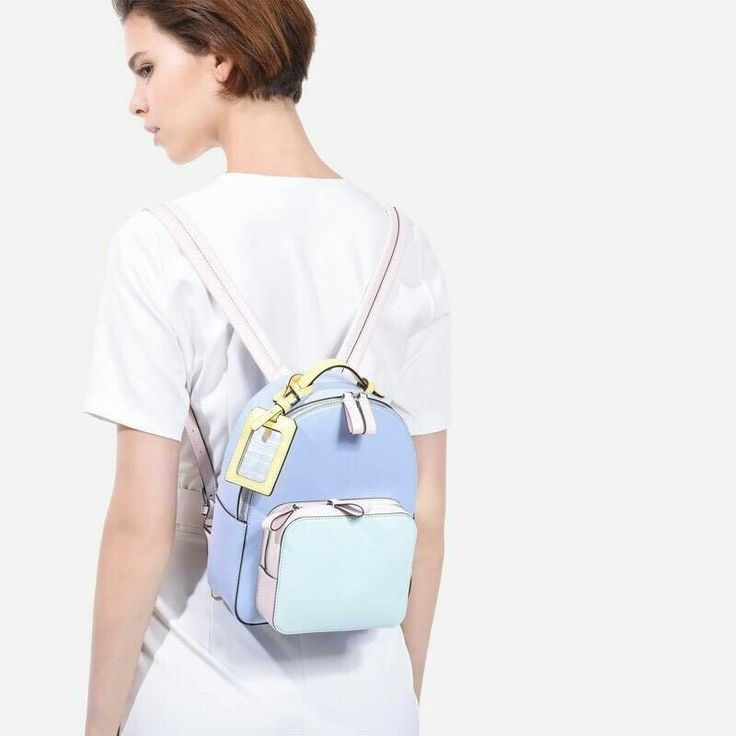 Charles & Keith Ribbon Detail Backpack