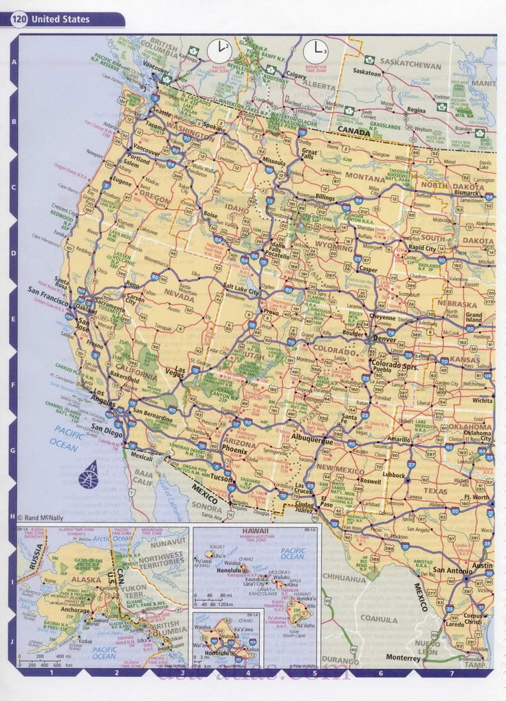 Best Highway Map Ideas On Pinterest Pacific Coast Time Road - Map of us and canadian national parks