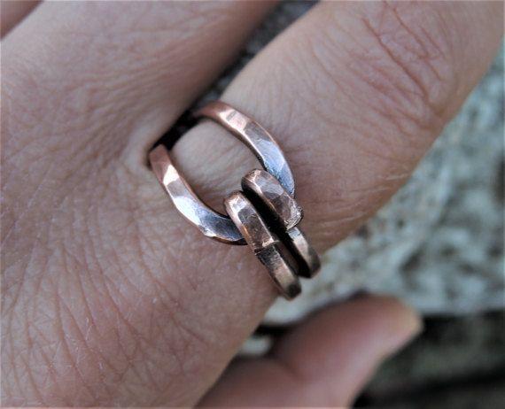 110 besten Men\'s Unisex Copper Wire Jewelry Bilder auf Pinterest ...