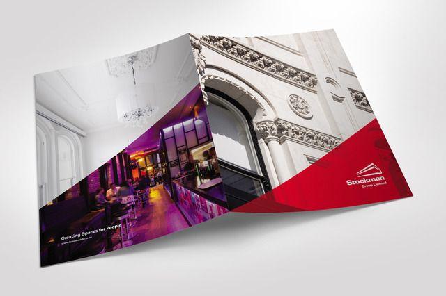 Stockman Group presentation folder graphic design by Robertson Creative, Christchurch, New Zealand.
