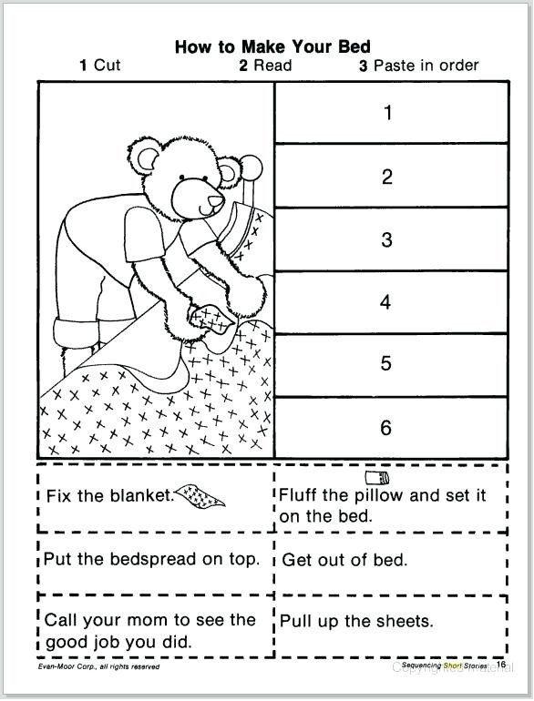 Kindergarten Sequencing Worksheet Order Of Events Worksheets Goodaction Story Sequencing Worksheets Sequencing Worksheets Kindergarten Sequencing Worksheets Sequence worksheets for kids