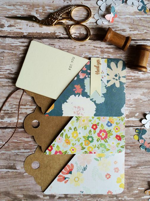 Free Shape of The Week | Pocketed Gift Card Holder Tag & Gift Wrap using by Brittany Sazonoff using her Silhouette Cameo