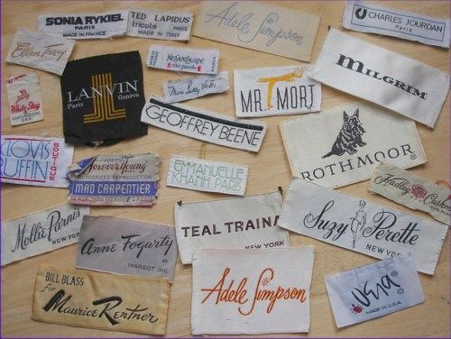 Clothing Tags: 1000+ Ideas About Clothing Labels On Pinterest