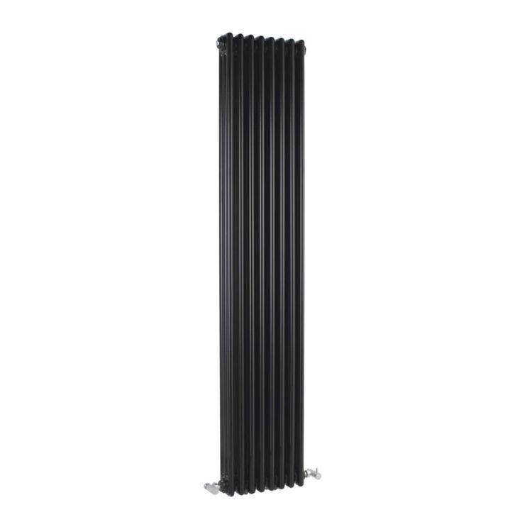 Radiateur Vertical Style Fonte Noir Windsor 180cm x 38,3cm x 9,6cm 1558 Watts - Image 2