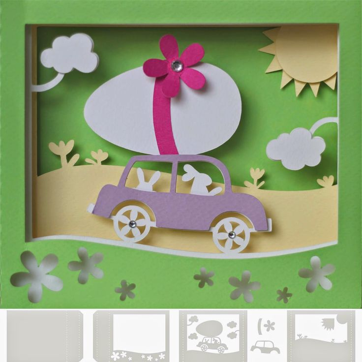 Best 25 Box Cards Tutorial ideas – Boxed Easter Cards