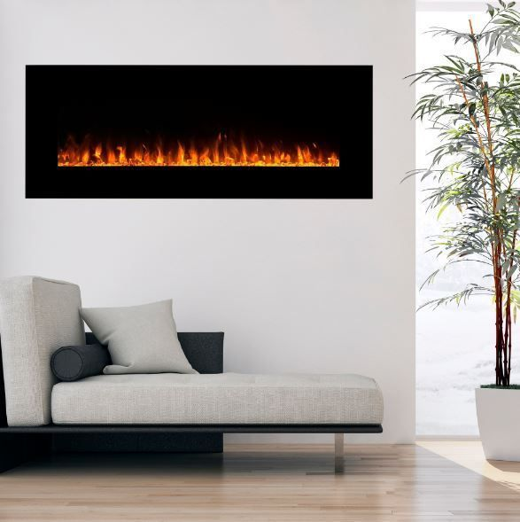 Estate Design Electric Fireplace Clearance Quality Craft Cheap Media Fire 54 In