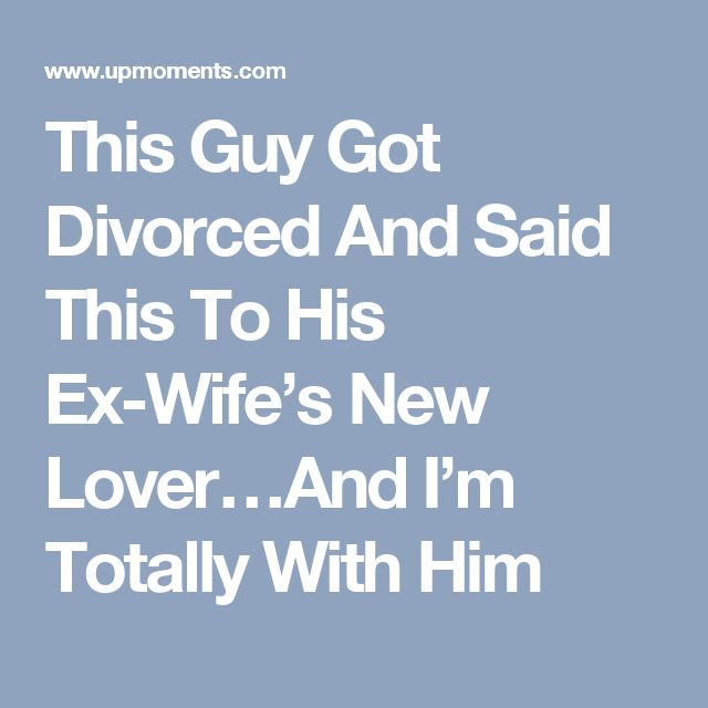 Dating a guy who is separated from his wife