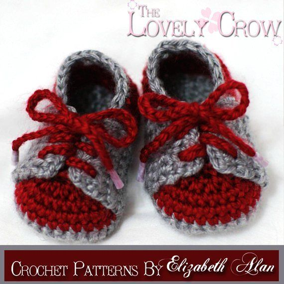 Baby Booties Crochet Pattern for LITTLE SPORT SADDLES
