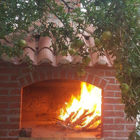 Preparing for tonight's Croatian barbecue.