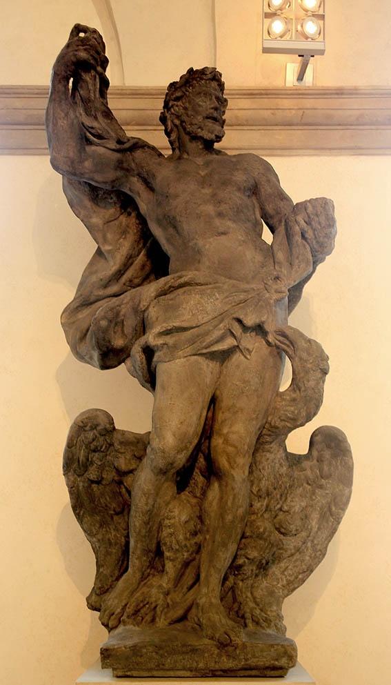 Mathias Bernard Braun - Jupiter(statue from attic of Clam-Gallas palace)1714-1716,Prague-National gallery