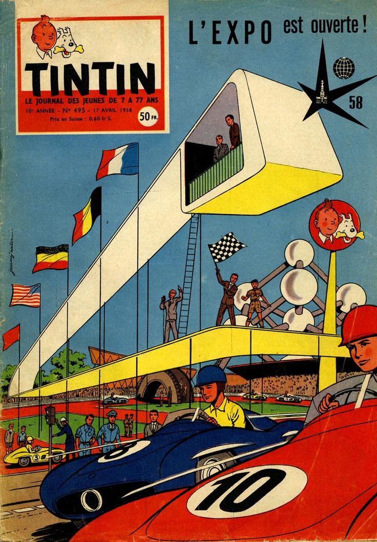 Tintin at L'Expo! 1958