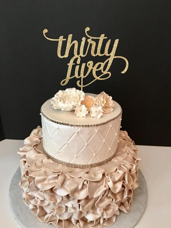Best 25 35th Birthday Cakes Ideas On Pinterest