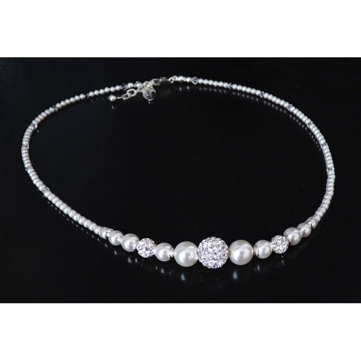 Brautschmuck  386 besten Bridal necklace - - tolle Brautschmuck Ketten Bilder ...