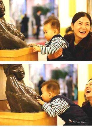 hilarious: Babies, Giggle, Funny Stuff, Funnies, Humor, Things, Breastfeeding, Kid